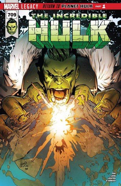 The Incredible Hulk Vol. 5 #709 – 717 (2017-2018) (Continued Vol. 1)