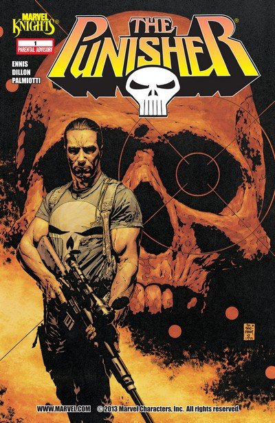 The Punisher – Welcome Back Frank #1 – 12 (2000-2001)