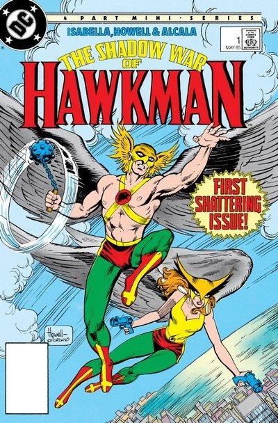 The Shadow War of Hawkman #1 – 4 (1985)