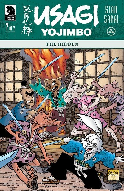 Usagi Yojimbo – The Hidden #7 (2018)