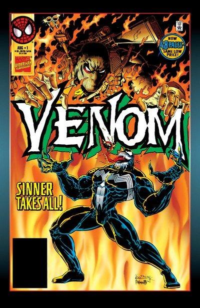 Venom – Sinner Takes All #1 – 5 (1995)