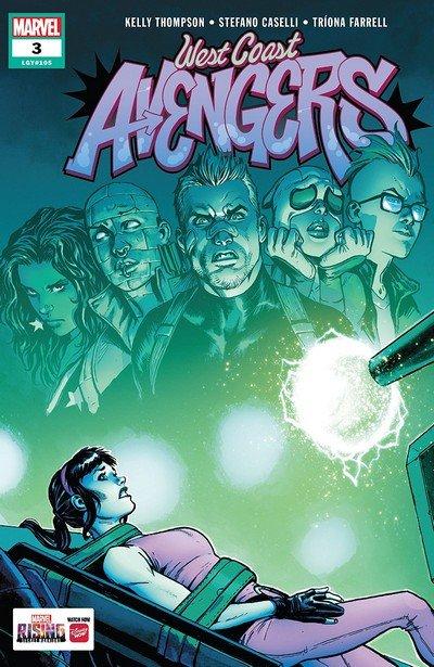 West Coast Avengers #3 (2018)
