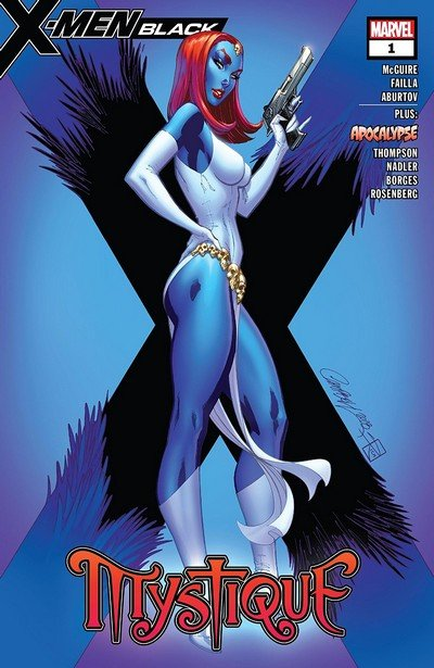 X-Men Black – Mystique #1 (2018)