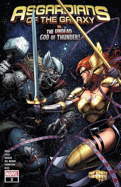 Asgardians Of The Galaxy #3 (2018)