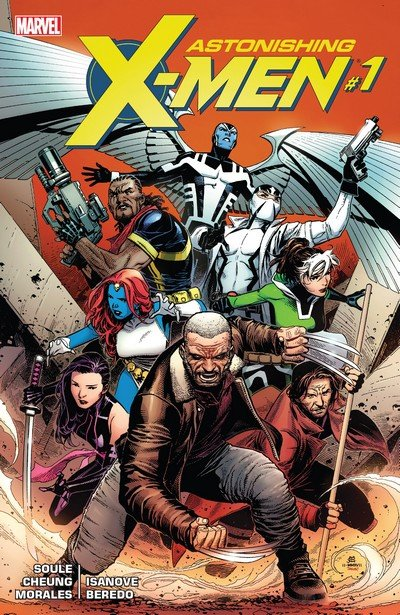 Astonishing X-Men Vol. 4 #1 – 17 + TPBs (2017-2018)