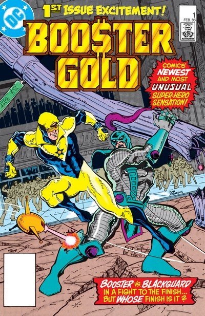 Booster Gold Vol. 1 #1 – 25 (1986-1987)