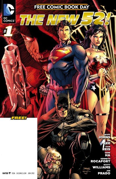 DC Comics – The New 52 FCBD Special Edition #1 (2012)