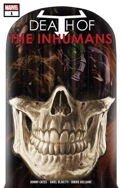 Death Of The Inhumans #1 – 5 (2018)