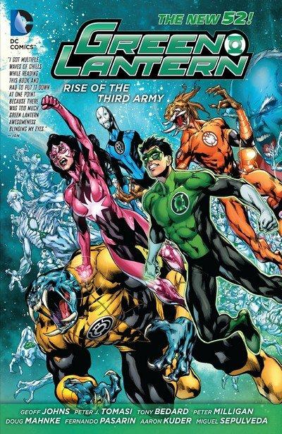 Green Lantern – Rise of the Third Army (TPB) (2013)
