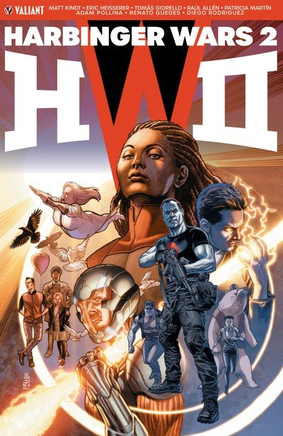 Harbinger Wars 2 (TPB) (2018)
