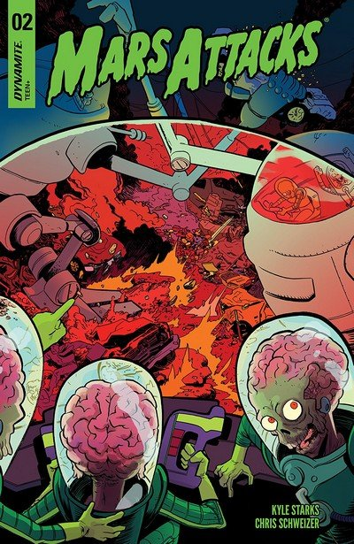 Mars Attacks #2 (2018)