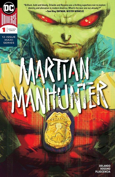 Martian Manhunter #1 (2018)