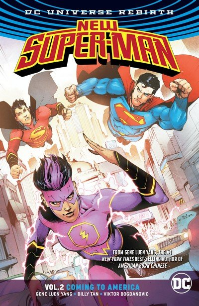 New Super-Man Vol. 2 – Coming to America (TPB) (2017)