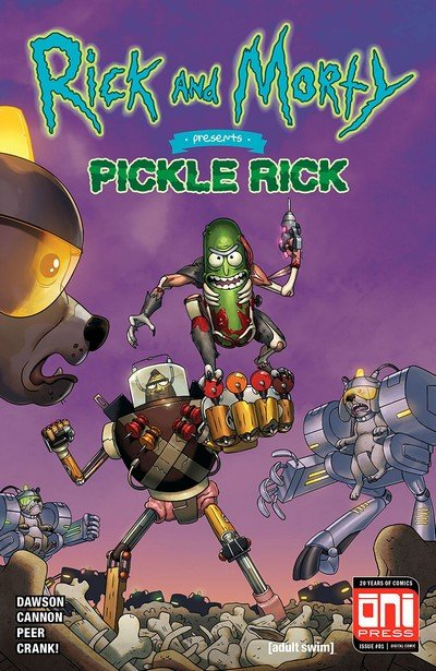 Rick And Morty Presents – Pickle Rick #1 (2018)