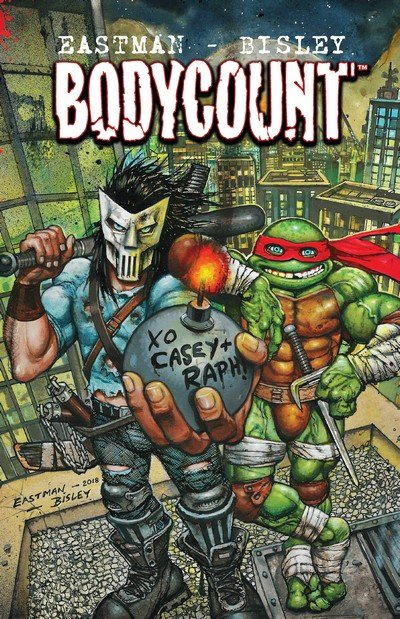 Teenage Mutant Ninja Turtles – Bodycount (TPB) (2018)