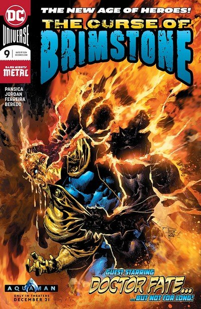 The Curse Of Brimstone #9 (2018)