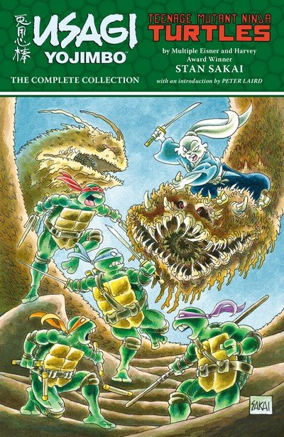 Usagi Yojimbo – Teenage Mutant Ninja Turtles – The Complete Collection (2018)