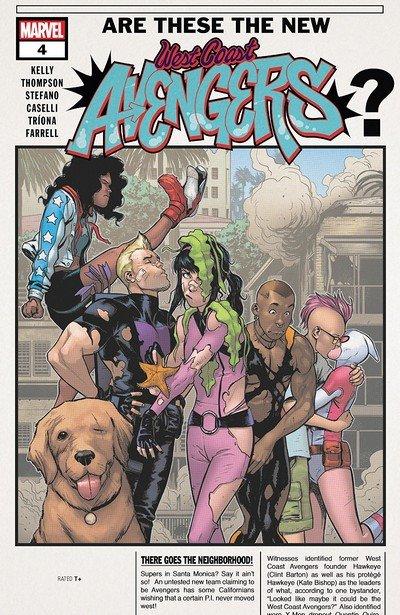 West Coast Avengers #4 (2018)