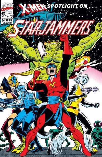 X-Men – Spotlight on the Starjammers #1 – 2 (1990)