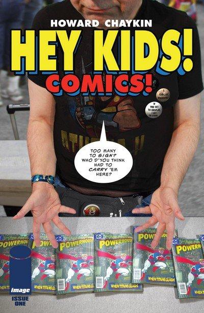 Hey Kids! Comics! #1 – 5 (2018)