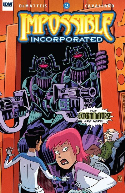 Impossible Incorporated #3 (2018)
