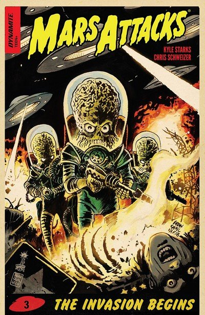 Mars Attacks #3 (2018)