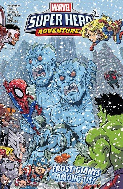 Marvel Super Hero Adventures – Captain Marvel – Frost Giants Among Us #1 (2018)