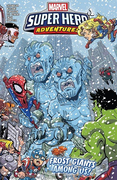 Marvel Super Hero Adventures – Captain Marvel – Frost Giants Among Us #1 (2018)