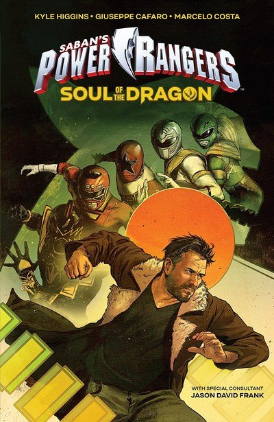 Power Rangers Original Graphic Novel – Soul of the Dragon (2018)