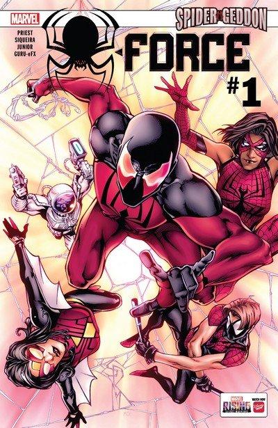 Spider-Force #1 – 3 (2018)