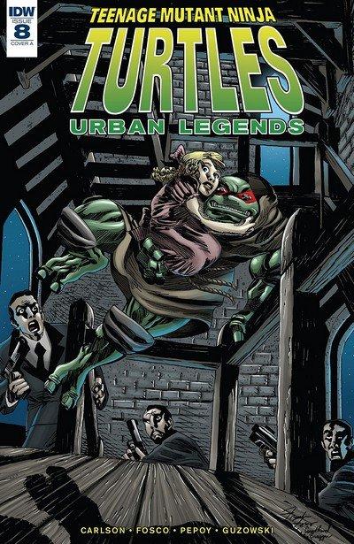 Teenage Mutant Ninja Turtles – Urban Legends #8 (2018)