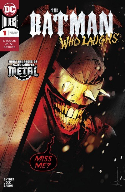 The Batman Who Laughs #1 (2018) (Preview)