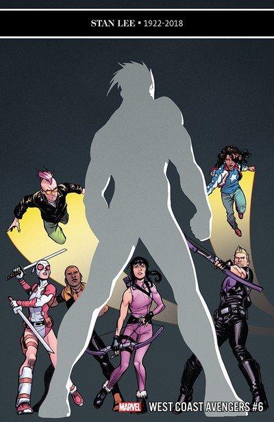 West Coast Avengers #6 (2018)
