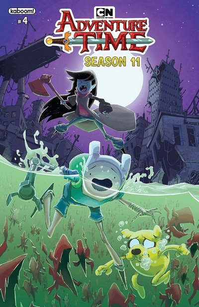 Adventure Time Season 11 #4 (2019)