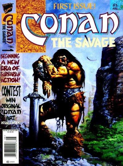 Conan The Savage #1 – 10 (1995-1996)