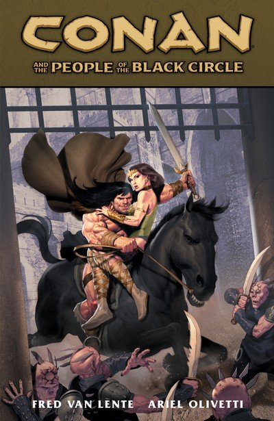 Conan and the People of the Black Circle (TPB) (2014)
