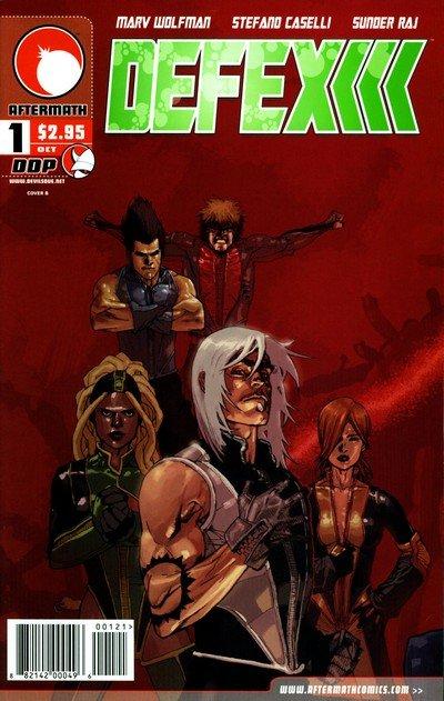 Defex #1 – 6 (2004-2005)
