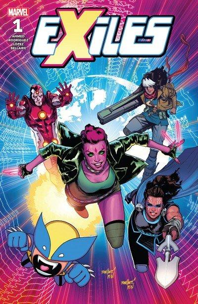 Exiles #1 – 12 (2018-2019)