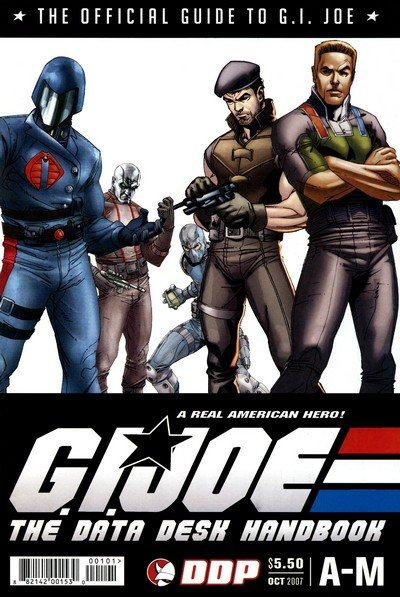 G.I. Joe – The Data Desk Handbook #1 + A-Z (2005+2007)
