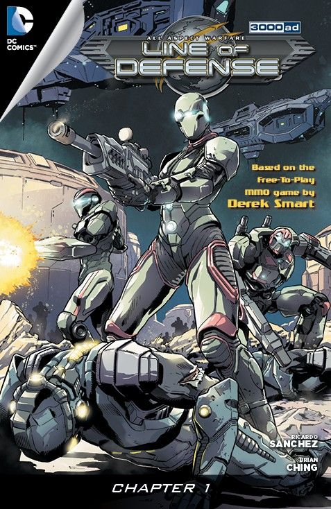 Line of Defense – 3000AD #0 – 6 (2012-2014)