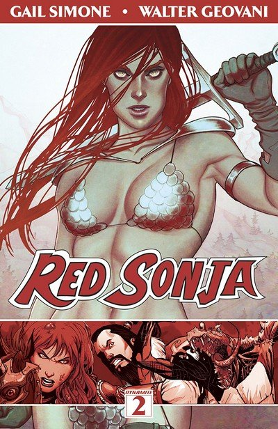 Red Sonja Vol. 2 – The Art of Blood and Fire (TPB) (2014)