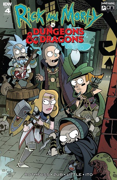 Rick And Morty vs. Dungeons & Dragons #4 (2019)
