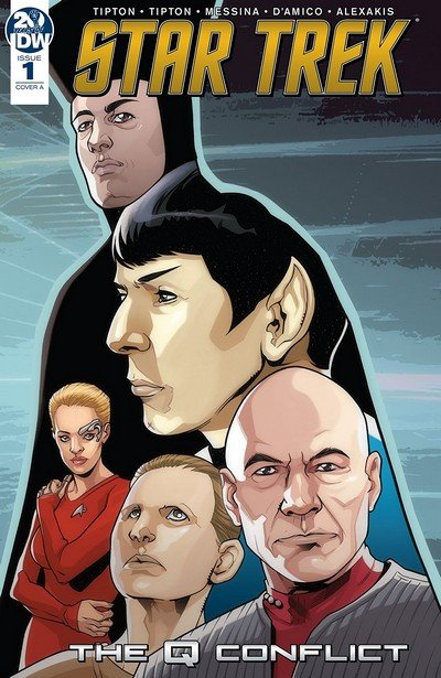 Star Trek – The Q Conflict #1 (2019)