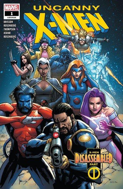 Uncanny X-Men #1 – 22 (2018-2019)