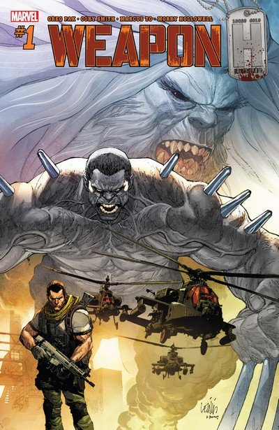 Weapon H #1 – 12 (2018-2019)
