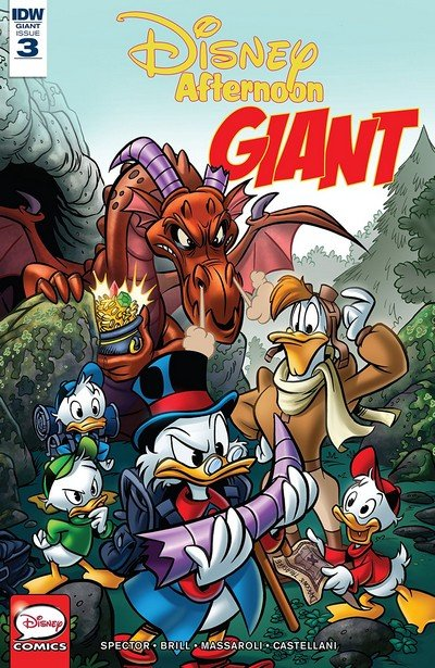 Disney Afternoon Giant #3 (2019)