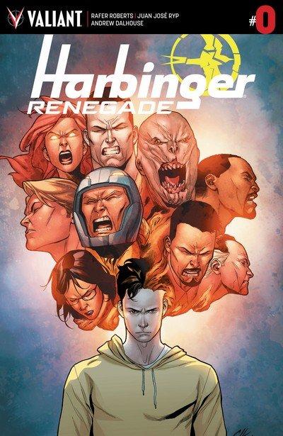 Harbinger Renegade #0 – 8 + TPBs (2017)