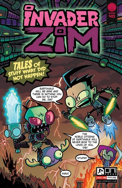 Invader Zim #40 (2019)
