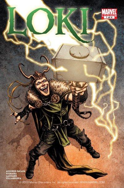 Loki #1 – 4 (2010-2011)