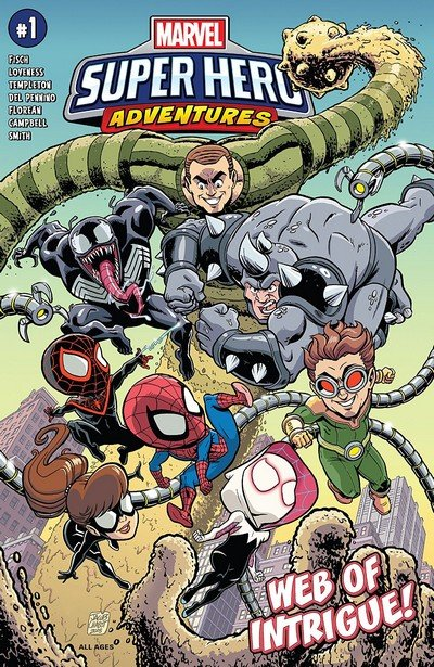 Marvel Super Hero Adventures – Spider-Man – Web Of Intrigue (2019)